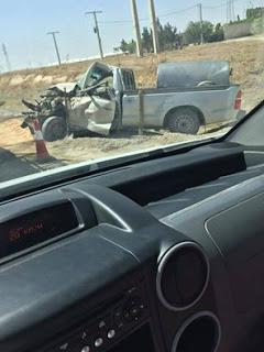 حادث مروري في العلمة ربي يجيب الخير